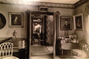 photo of an interior of the Pine Knoll house